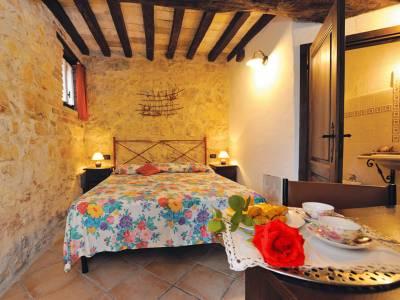 Camera letto - appartamento Rosa